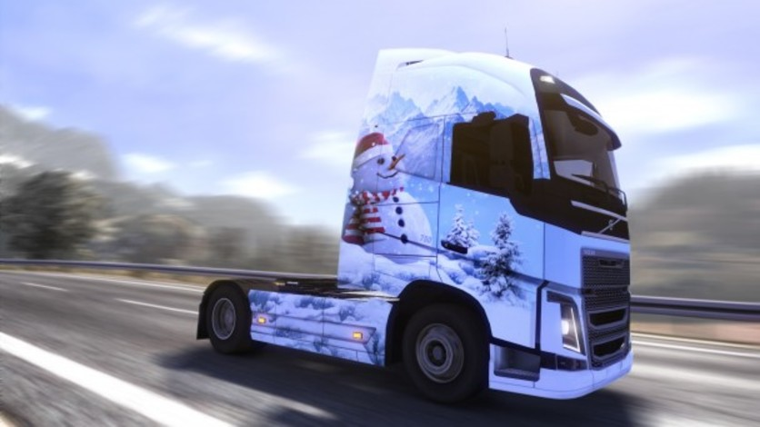 Screenshot 3 - Euro Truck Simulator 2: Ice Cold Paint Jobs Pack