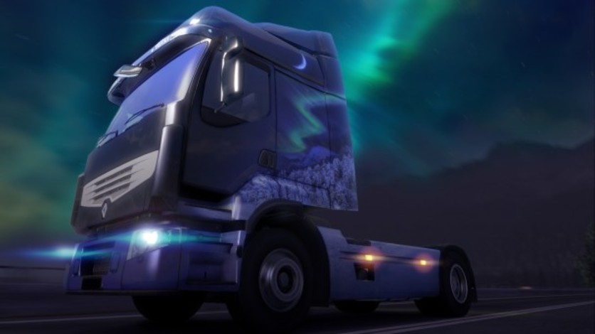 Screenshot 2 - Euro Truck Simulator 2: Ice Cold Paint Jobs Pack