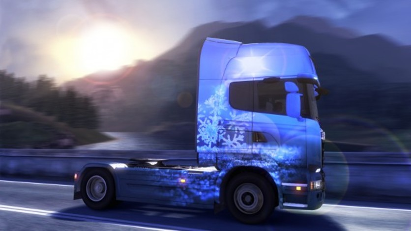 Screenshot 1 - Euro Truck Simulator 2: Ice Cold Paint Jobs Pack