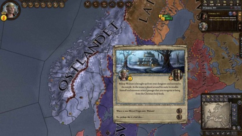 Screenshot 4 - Crusader Kings II: The Old Gods