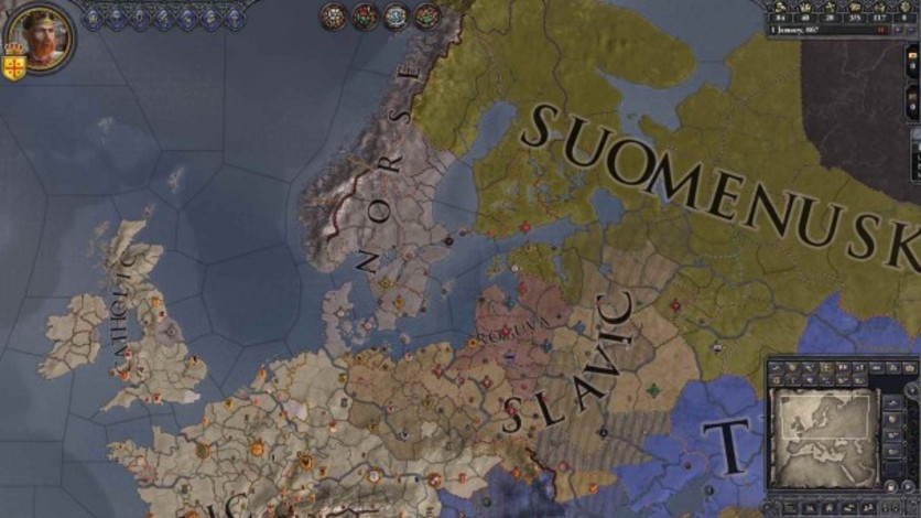 Screenshot 1 - Crusader Kings II: The Old Gods