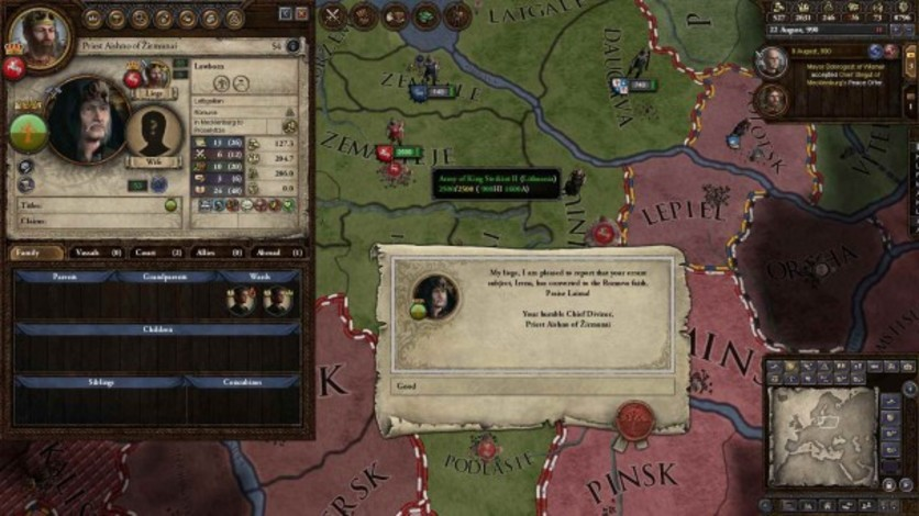 Screenshot 3 - Crusader Kings II: The Old Gods