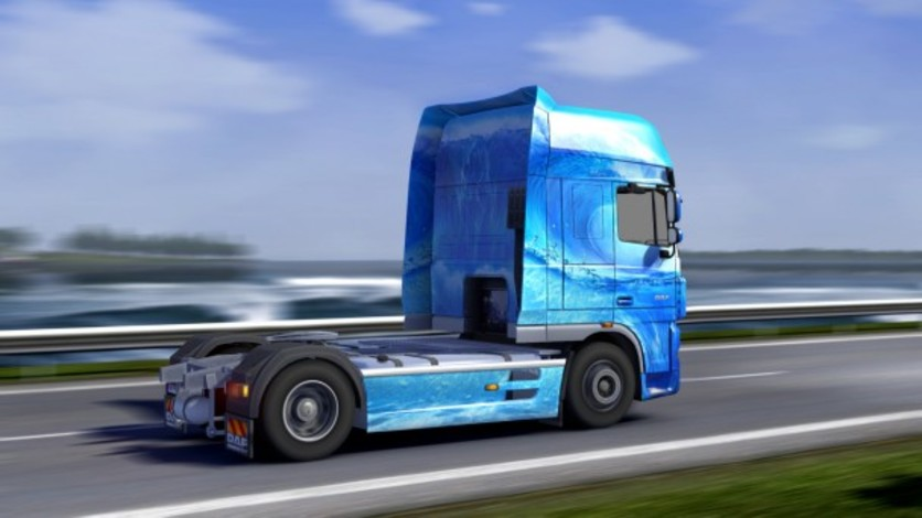 Screenshot 2 - Euro Truck Simulator 2 - Force of Nature Paint Jobs Pack