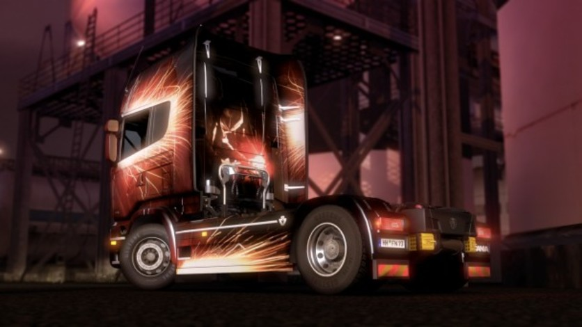 Screenshot 3 - Euro Truck Simulator 2 - Force of Nature Paint Jobs Pack
