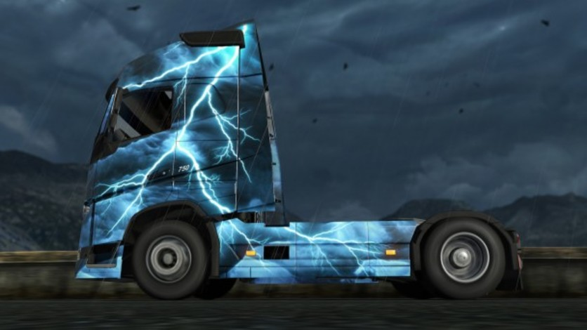 Screenshot 6 - Euro Truck Simulator 2 - Force of Nature Paint Jobs Pack