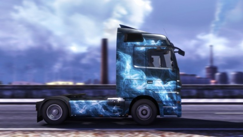 Screenshot 4 - Euro Truck Simulator 2 - Force of Nature Paint Jobs Pack
