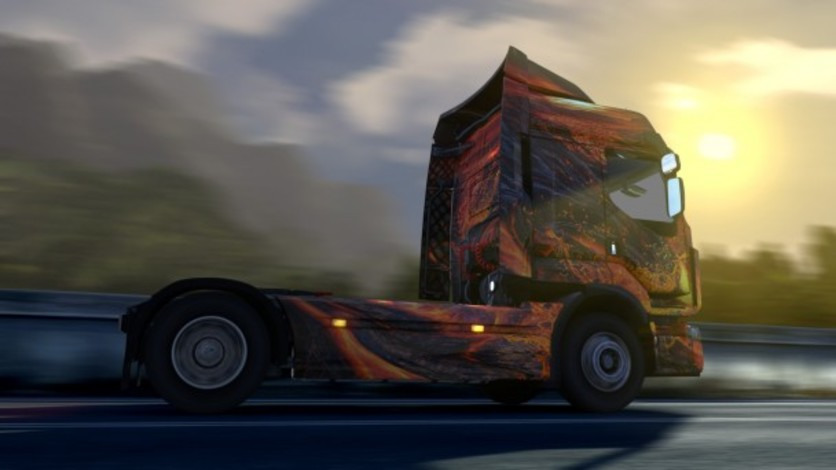 Screenshot 5 - Euro Truck Simulator 2 - Force of Nature Paint Jobs Pack