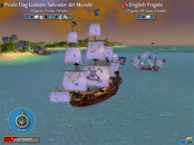 Screenshot 1 - Sid Meier's Pirates!
