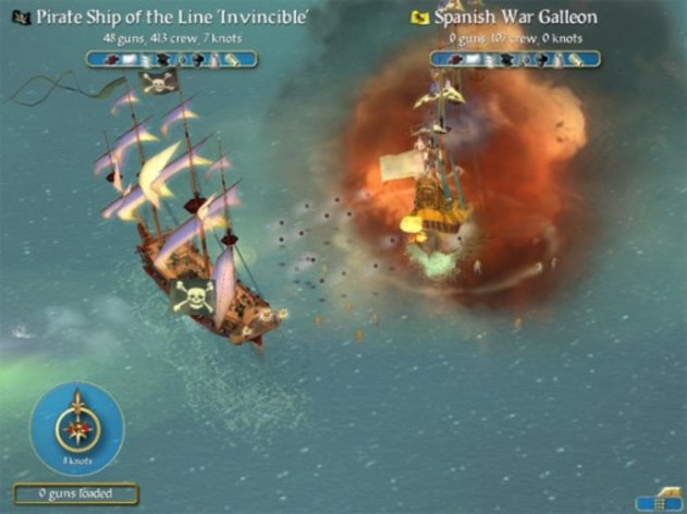 Screenshot 4 - Sid Meier's Pirates!