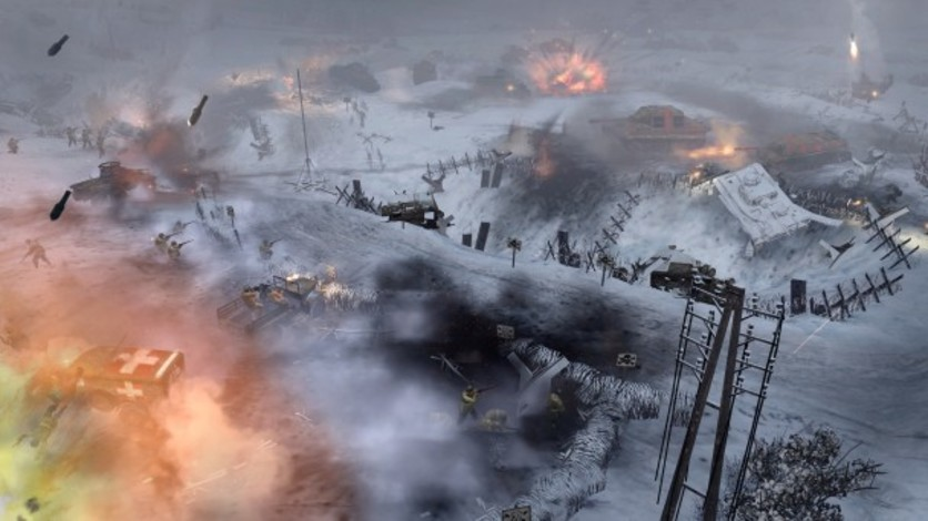 Screenshot 3 - Company of Heroes 2 - Ardennes Assault: Fox Company Rangers