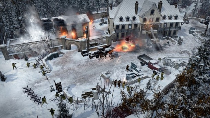 Screenshot 5 - Company of Heroes 2 - Ardennes Assault: Fox Company Rangers