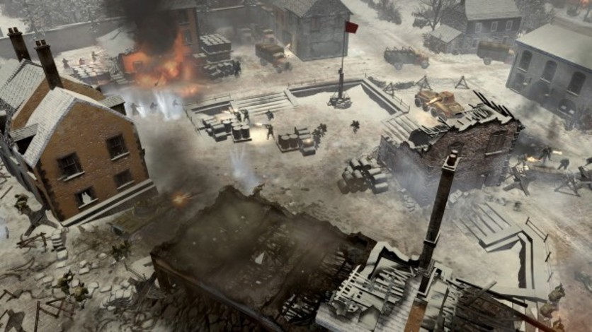 Screenshot 4 - Company of Heroes 2 - Ardennes Assault: Fox Company Rangers