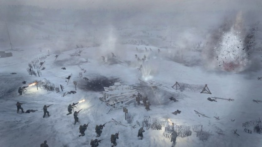 Screenshot 2 - Company of Heroes 2 - Ardennes Assault: Fox Company Rangers