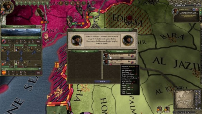 Screenshot 4 - Crusader Kings II: Sword of Islam