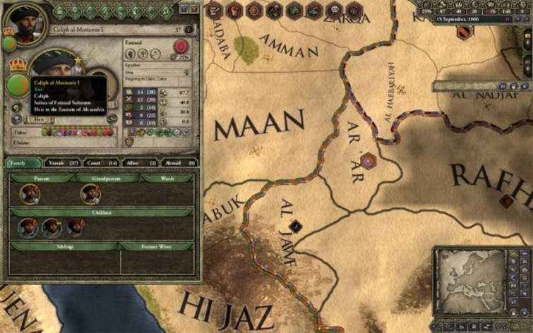 Screenshot 10 - Crusader Kings II: Sword of Islam