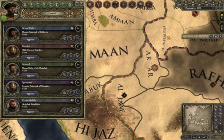 Screenshot 8 - Crusader Kings II: Sword of Islam