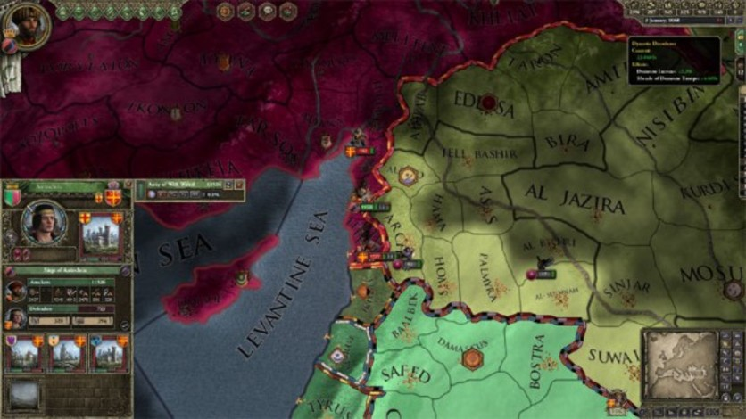 Screenshot 1 - Crusader Kings II: Sword of Islam