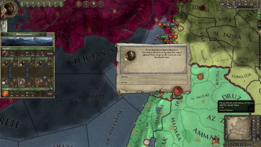 Screenshot 3 - Crusader Kings II: Sword of Islam