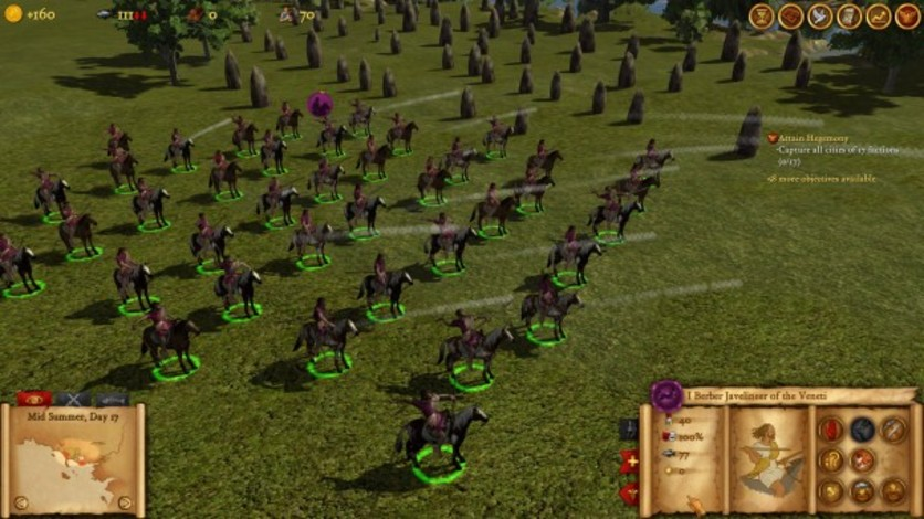 Screenshot 3 - Hegemony Rome: The Rise of Caesar - Advanced Tactics