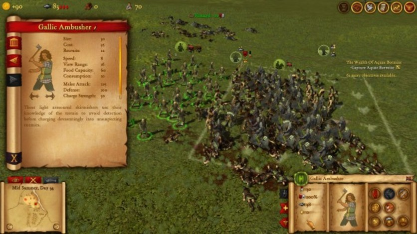 Screenshot 1 - Hegemony Rome: The Rise of Caesar - Advanced Tactics