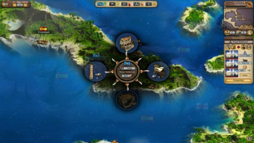 Screenshot 1 - Port Royale 3: Dawn of Pirates