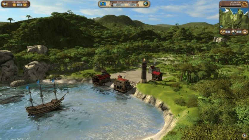Screenshot 3 - Port Royale 3: Dawn of Pirates