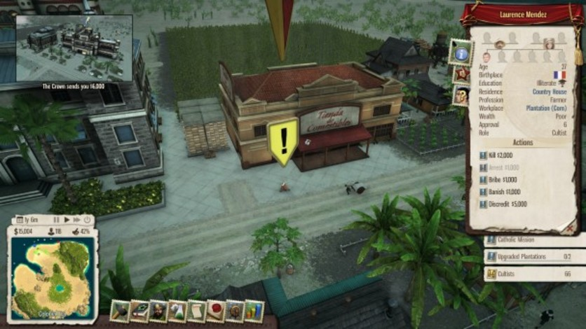 Screenshot 2 - Tropico 5: Inquisition