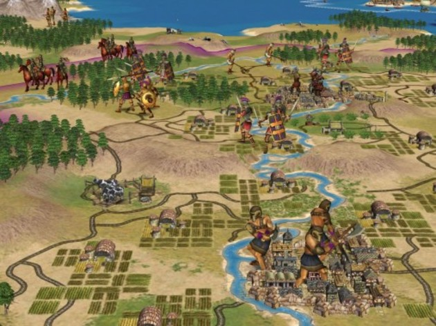 Screenshot 1 - Sid Meier's Civilization IV