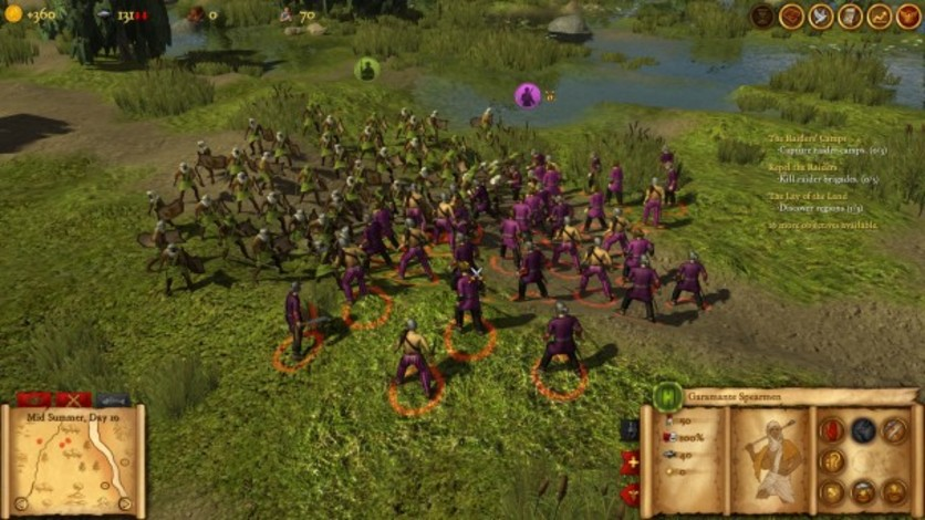 Screenshot 5 - Hegemony Rome: The Rise of Caesar - Mercenaries