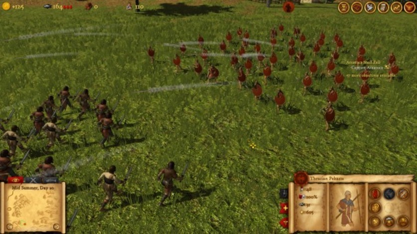 Screenshot 2 - Hegemony Rome: The Rise of Caesar - Mercenaries