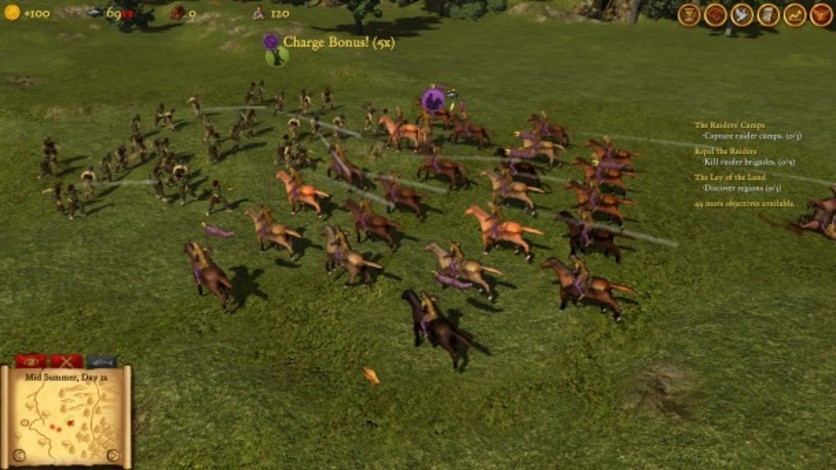 Screenshot 1 - Hegemony Rome: The Rise of Caesar - Mercenaries