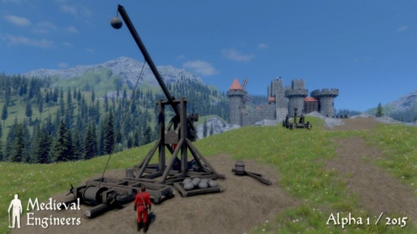 Screenshot 2 - Medieval Engineers Deluxe Edtion