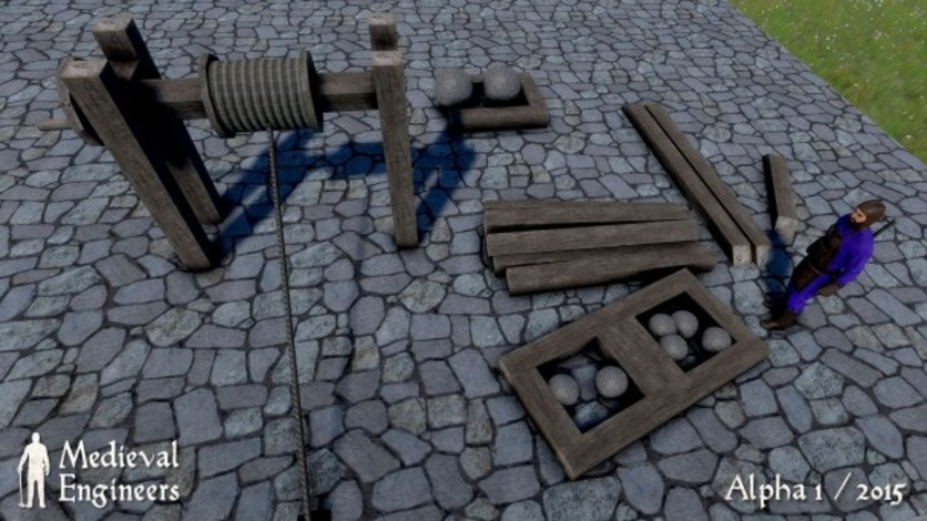 Screenshot 3 - Medieval Engineers Deluxe Edtion