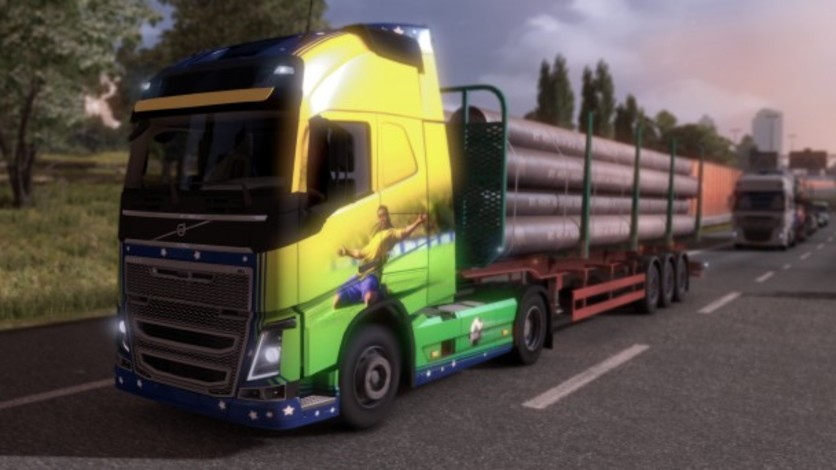 Screenshot 4 - Euro Truck Simulator 2 - Brazilian Paint Jobs Pack