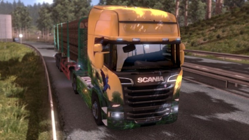 Screenshot 5 - Euro Truck Simulator 2 - Brazilian Paint Jobs Pack