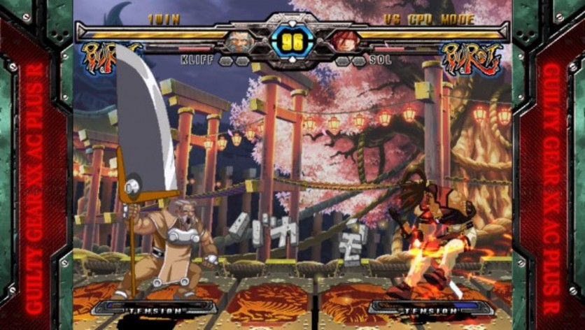 Screenshot 2 - GUILTY GEAR XX ACCENT CORE PLUS R