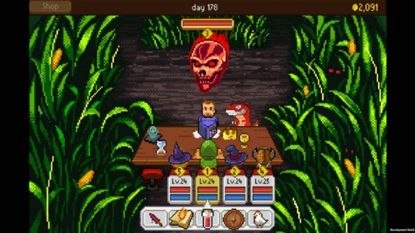 Screenshot 4 - Knights of Pen & Paper: Haunted Fall