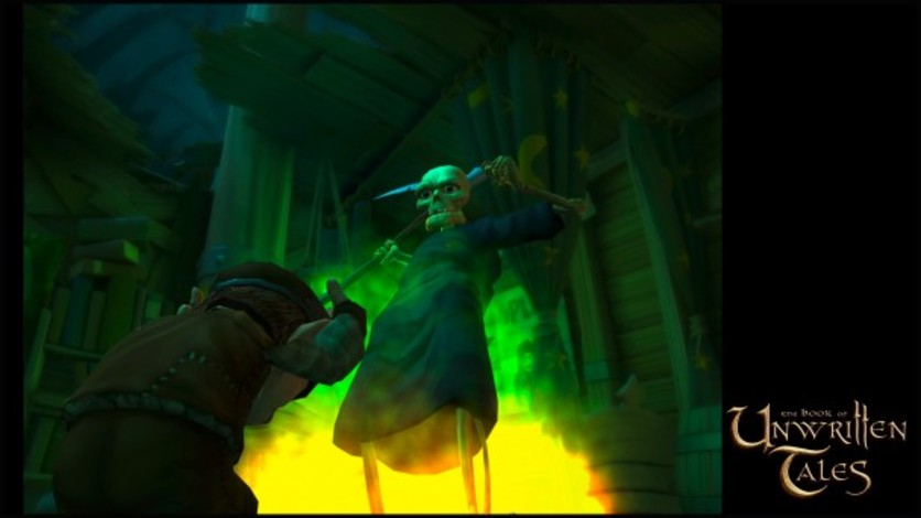 Screenshot 2 - The Book of Unwritten Tales