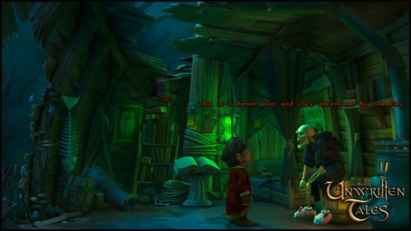 Screenshot 10 - The Book of Unwritten Tales