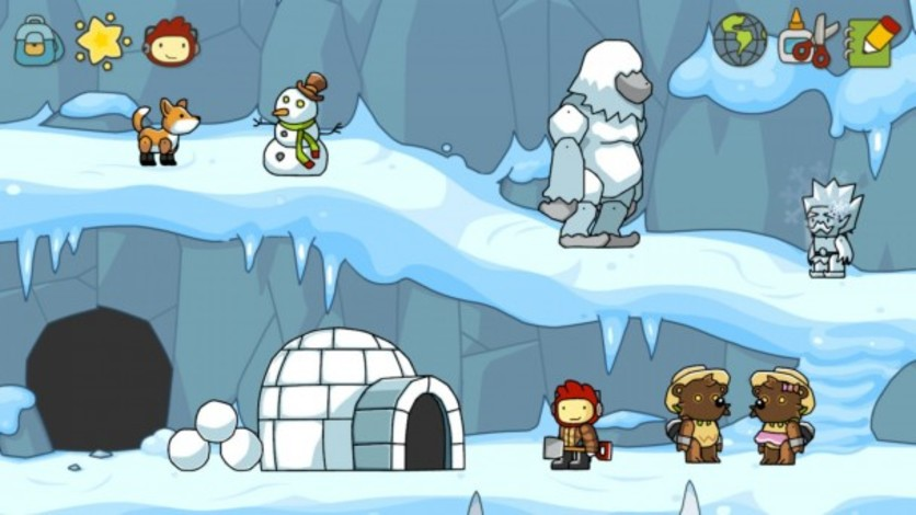 Screenshot 2 - Scribblenauts Unlimited