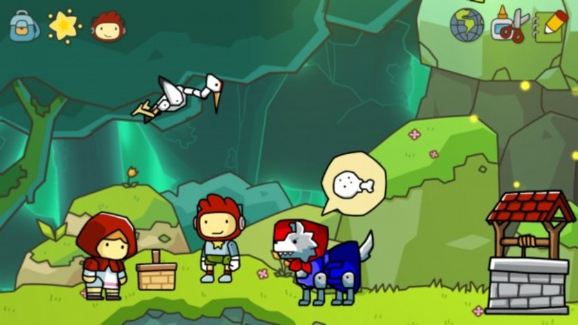 Screenshot 4 - Scribblenauts Unlimited