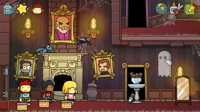 Screenshot 3 - Scribblenauts Unlimited