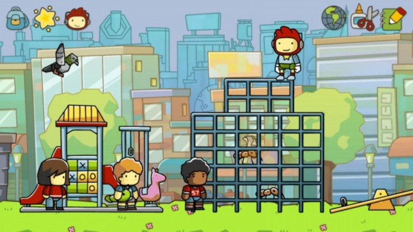 Screenshot 1 - Scribblenauts Unlimited