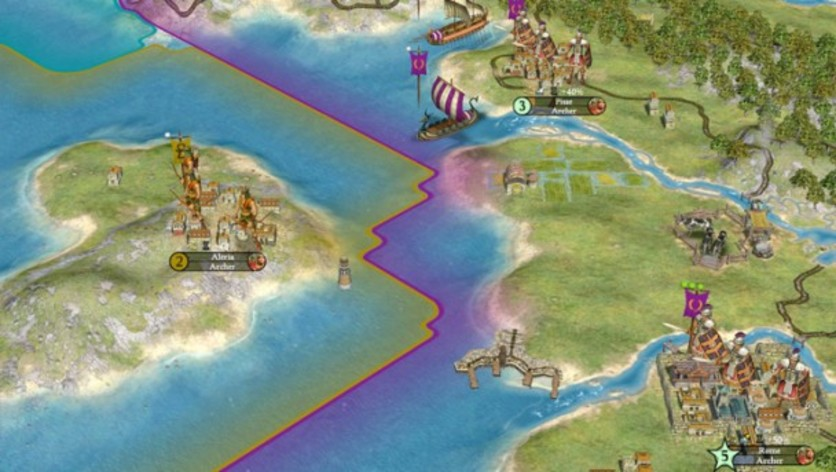 Screenshot 2 - Sid Meier's Civilization IV - Warlords