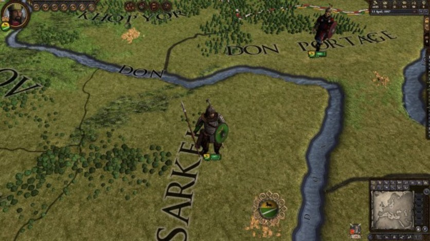 Screenshot 4 - Crusader Kings II: Turkish Unit Pack