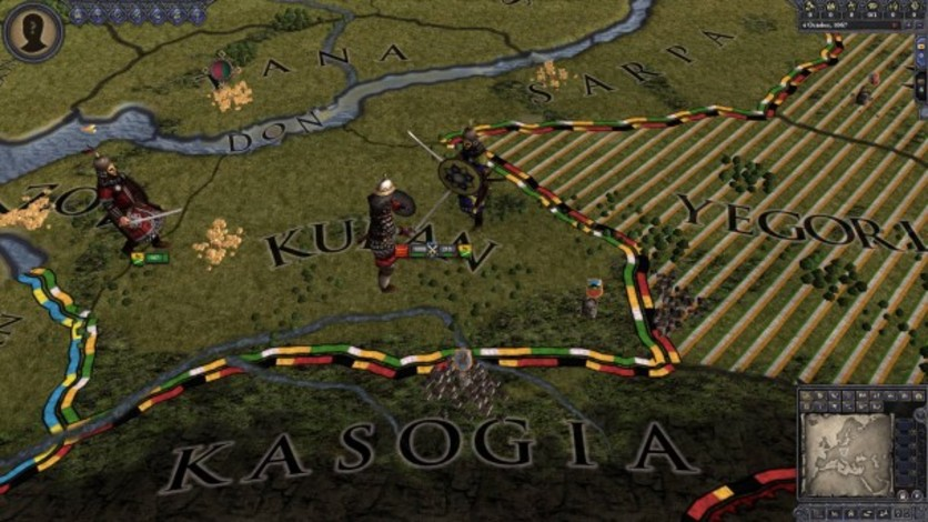 Screenshot 2 - Crusader Kings II: Turkish Unit Pack
