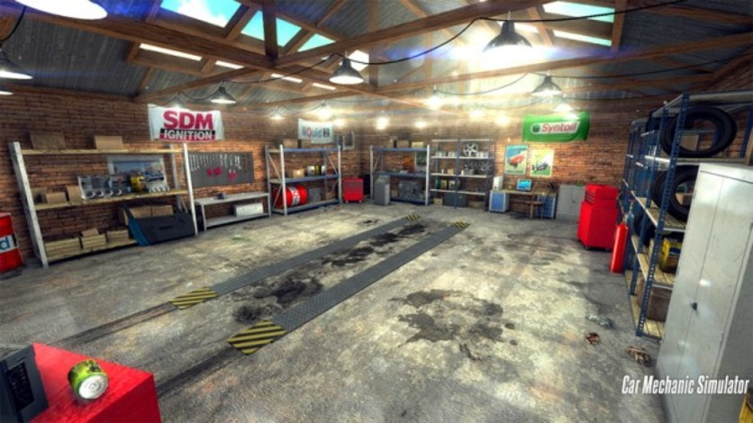 Screenshot 2 - Car Mechanic Simulator 2014