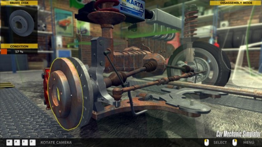 Screenshot 4 - Car Mechanic Simulator 2014
