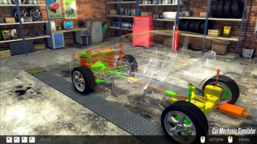 Screenshot 8 - Car Mechanic Simulator 2014