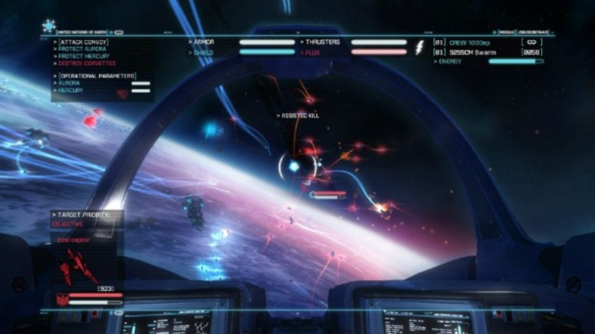 Screenshot 7 - Strike Suit Zero Director's Cut